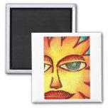 Vera Firestarter's Suns Fridge Magnets