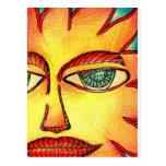 Vera Firestarter's Suns Postcards