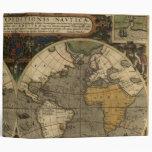 Vera Totius Expeditionis Map 3 Ring Binder