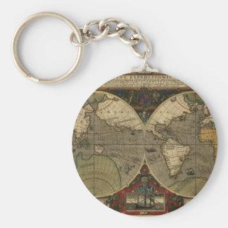 Vera Totius Expeditionis Map Key Chains