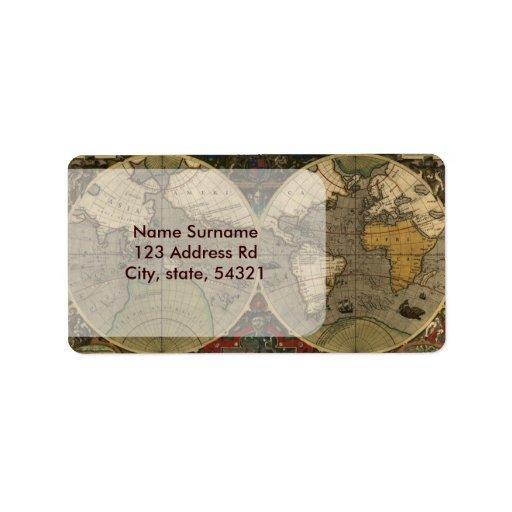 Vera Totius Expeditionis Map Label
