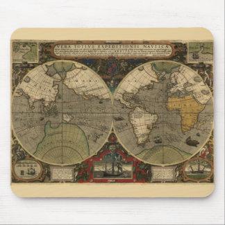 Vera Totius Expeditionis Map Mouse Pad