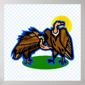 Vera & Vern Vulture Print