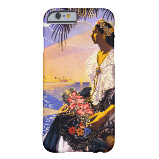 Veracruz Mexico Vintage Travel Poster Restored Barely There iPhone 6 Case