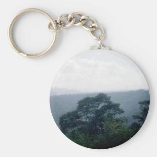 Veracruz State Landscape 1 Basic Round Button Keychain