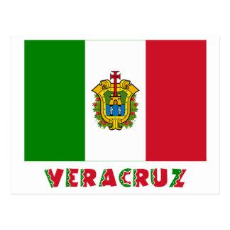 Veracruz Unofficial Flag Postcard