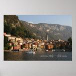 verana, italy ~ lake como poster