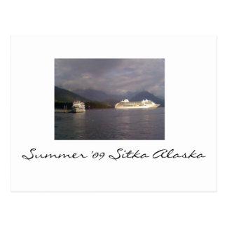 Verano '09 Sitka Alaska Tarjeta Postal