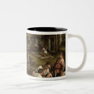 Verano, 1576, taza de café de dos colores