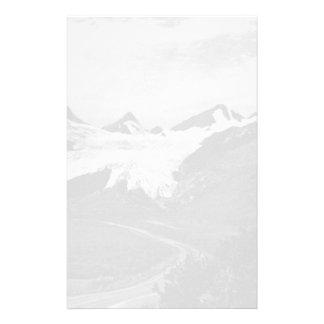 Verano 1970 del glaciar de los E.E.U.U. Alaska Papeleria
