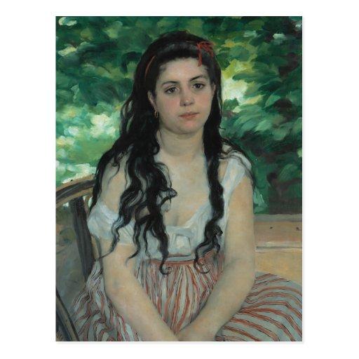 Verano, Auguste Renoir Postal