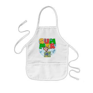 VERANO - camisetas y regalos subacuáticos del Delantal Infantil