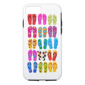 Verano colorido del tema de la playa de la funda iPhone 7