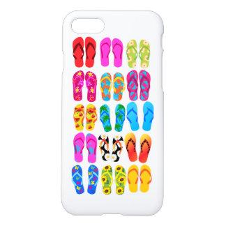 Verano colorido del tema de la playa de la funda para iPhone 7