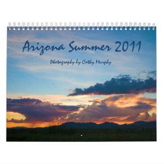 Verano de Arizona Calendario De Pared