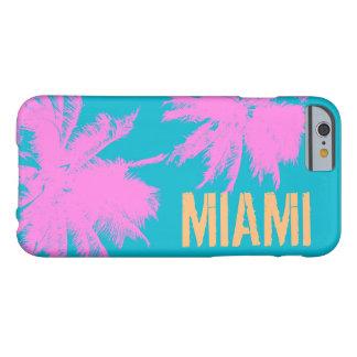 Verano de encargo MB3 tropical de Miami Beach Funda Barely There iPhone 6