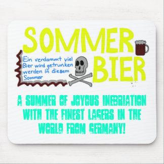 ¡Verano de la cerveza! Alfombrillas De Ratones