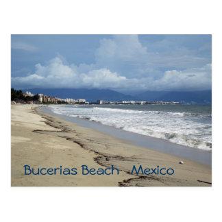 Verano de la playa de Bucerias Postal