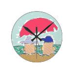 Verano de la playa relojes