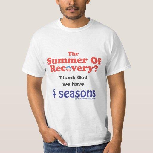 ¿Verano de la recuperación? Remera