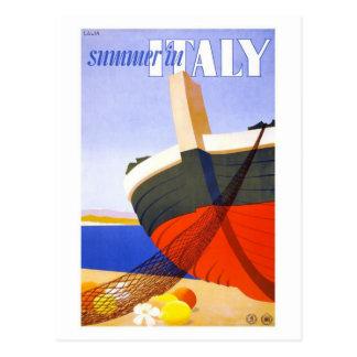 Verano de Lalia en Italia Tarjetas Postales