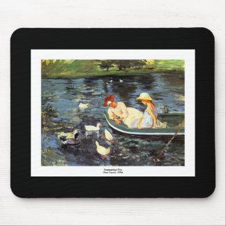 Verano de Mary Cassatt Tapetes De Ratones