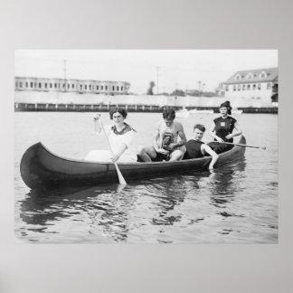Verano de relajación: 1910 posters
