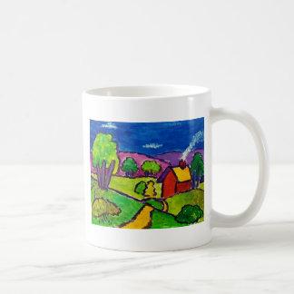 Verano de Vermont por Piliero Taza De Café