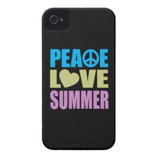 Verano del amor de la paz carcasa para iPhone 4 de Case-Mate