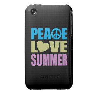Verano del amor de la paz funda para iPhone 3