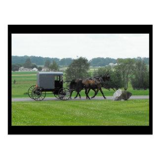 Verano del ~ en el ~ 72 del condado de Lancaster Tarjeta Postal