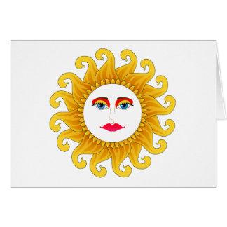 verano del solsticio 2012 tarjeta de felicitación