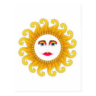 verano del solsticio 2012 postal