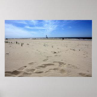 Verano en Egmond Zee aan Póster