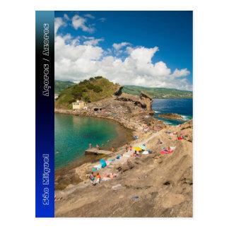 Verano en el islote tarjeta postal
