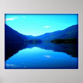 Verano en el lago impresiones