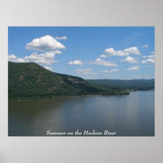 Verano en el río Hudson Póster