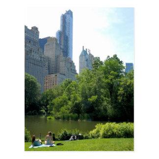 Verano en la postal de New York City del Central P