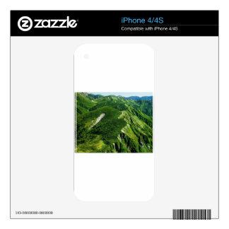 Verano en las montañas iPhone 4S skins