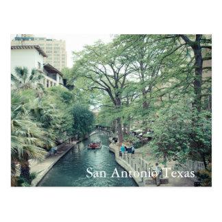 Verano en Riverwalk, postal de San Antonio Tejas
