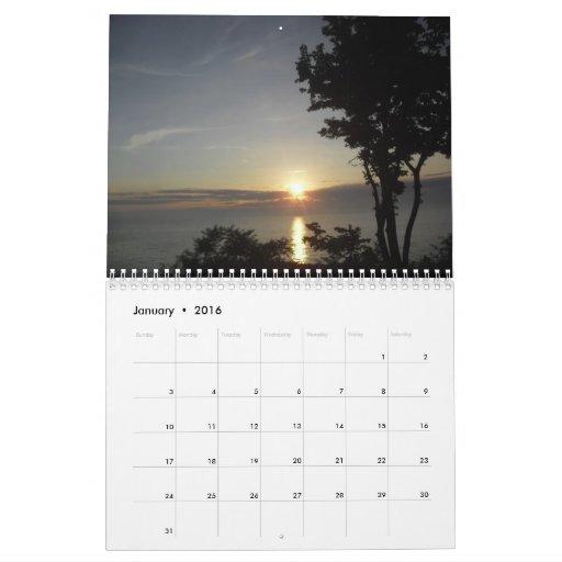 Verano en Saugatuck de Scott S. Jones Calendarios De Pared