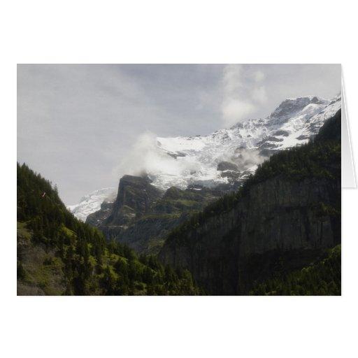 Verano en Suiza Tarjeta De Felicitación