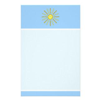 Verano feliz Sun. Amarillo y azul Papeleria