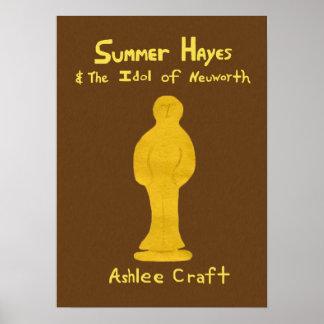 Verano Hayes y el ídolo del poster del libro de Ne