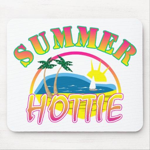 Verano Hottie Alfombrillas De Ratón