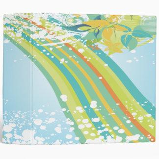 verano moderno floral bliss-01 del arco iris en co