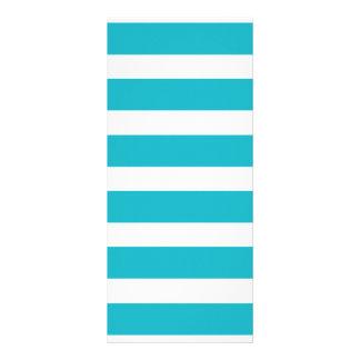 Verano náutico de la turquesa y de la raya blanca lonas personalizadas