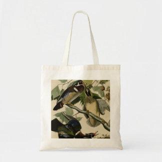 Verano o pato de madera bolsa tela barata