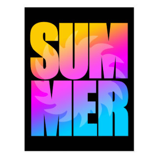 Verano Sun del tigre 80s de Corey Tarjetas Postales