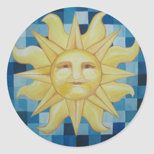 Verano Sun Pegatina
